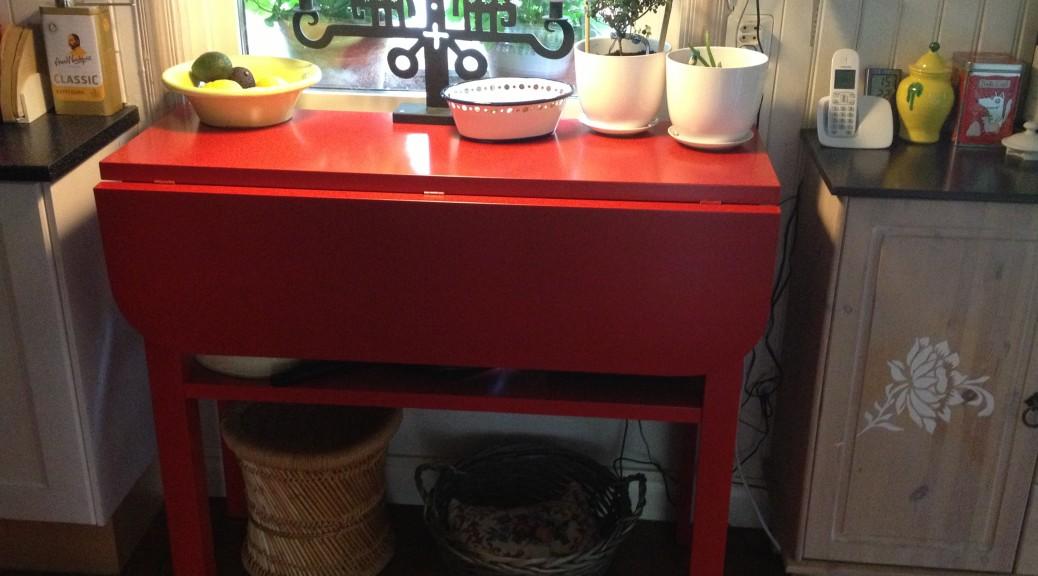 Slagbord i massiv furu